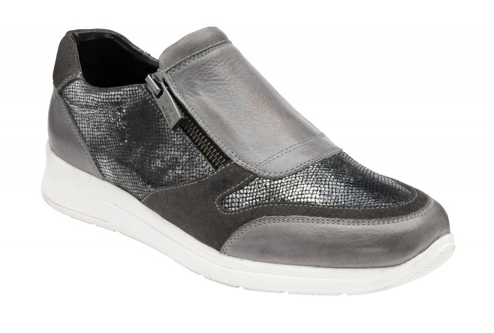 Sian Grey/Pewter Snake Leather